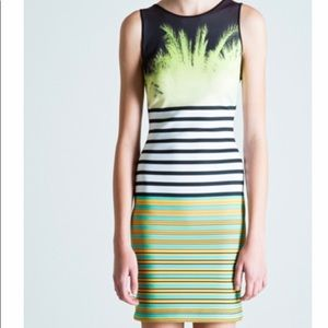 Clover Canyon Neoprene multicolored dress.